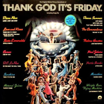 Thank God It's Friday - Recorded The Commodores live for both the film and soundtrack